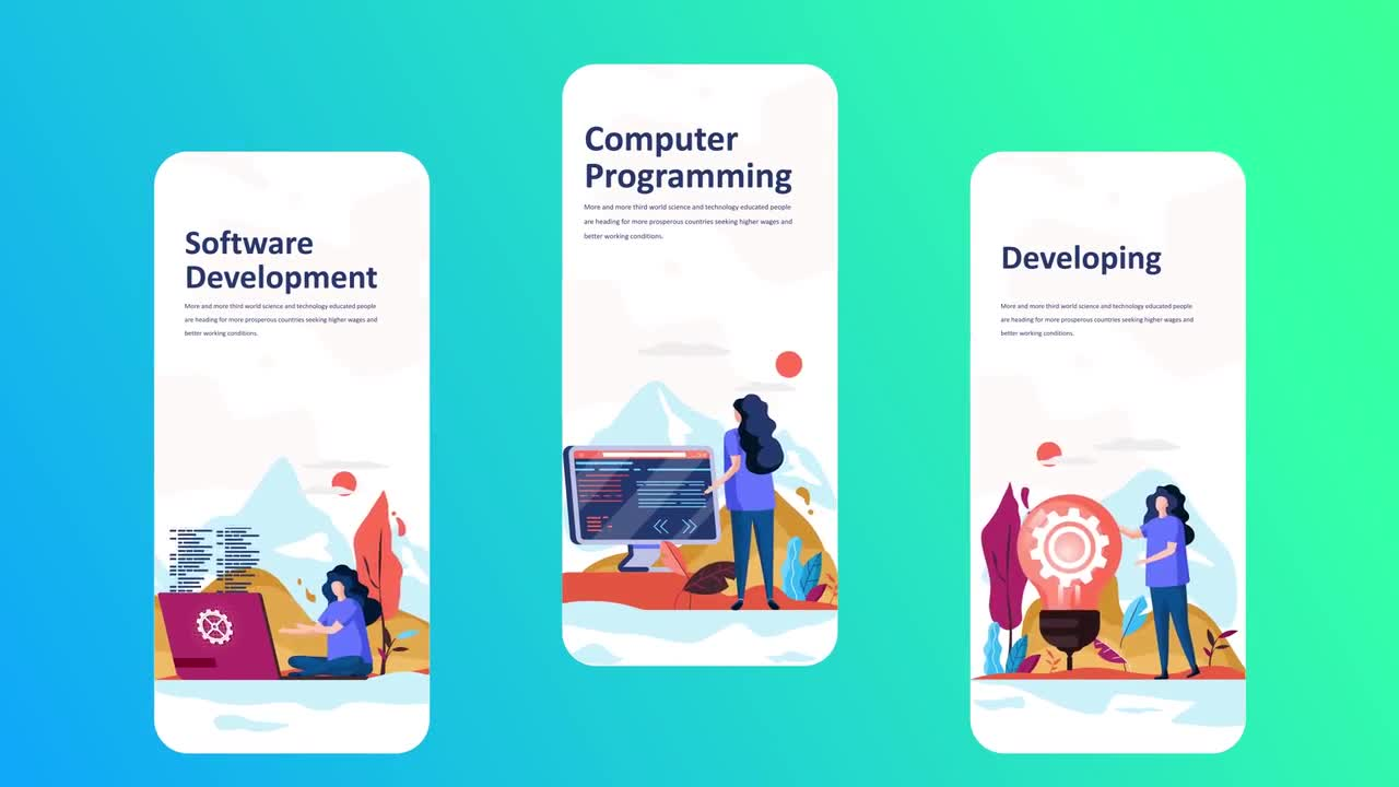 Development - Instagram Stories - After Effects Templates