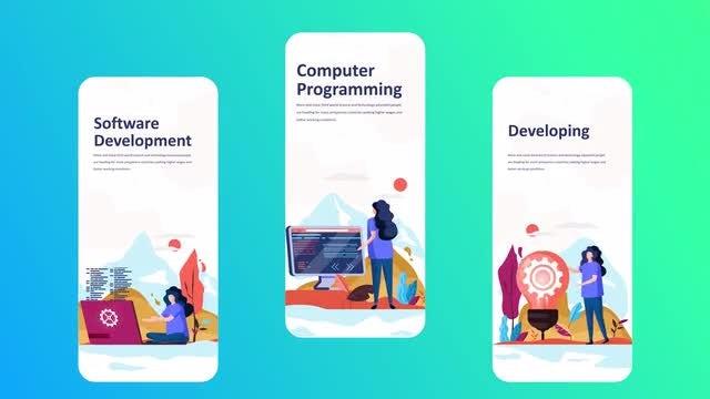 Development - Instagram Stories: After Effects Templates