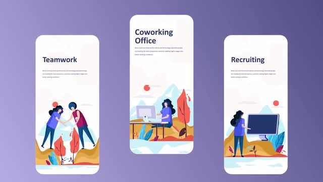 Employment - Instagram Stories: After Effects Templates