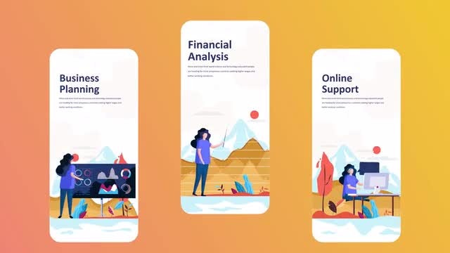 Finance - Instagrame Stories: After Effects Templates