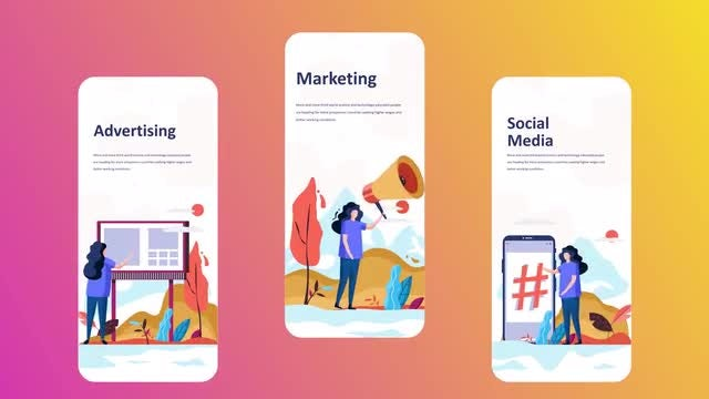 Marketing - Instagram Stories: After Effects Templates