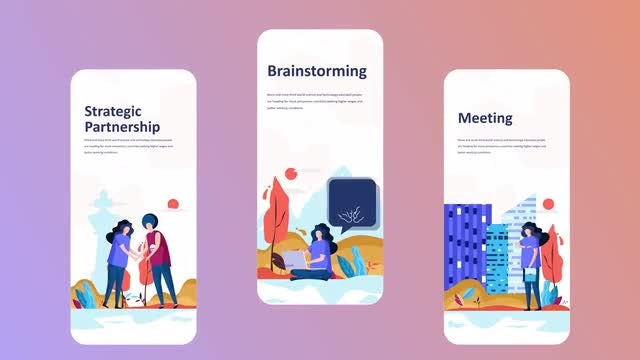 Partnership - Instagram Stories: After Effects Templates