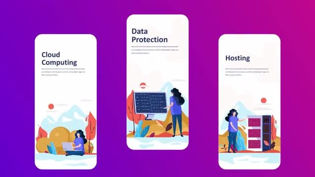 Technology - Instagram Stories: After Effects Templates