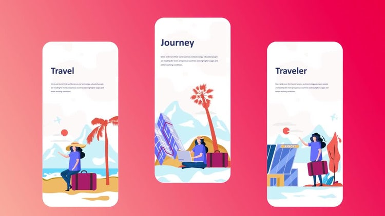 Vacation - Instagram Stories: After Effects Templates