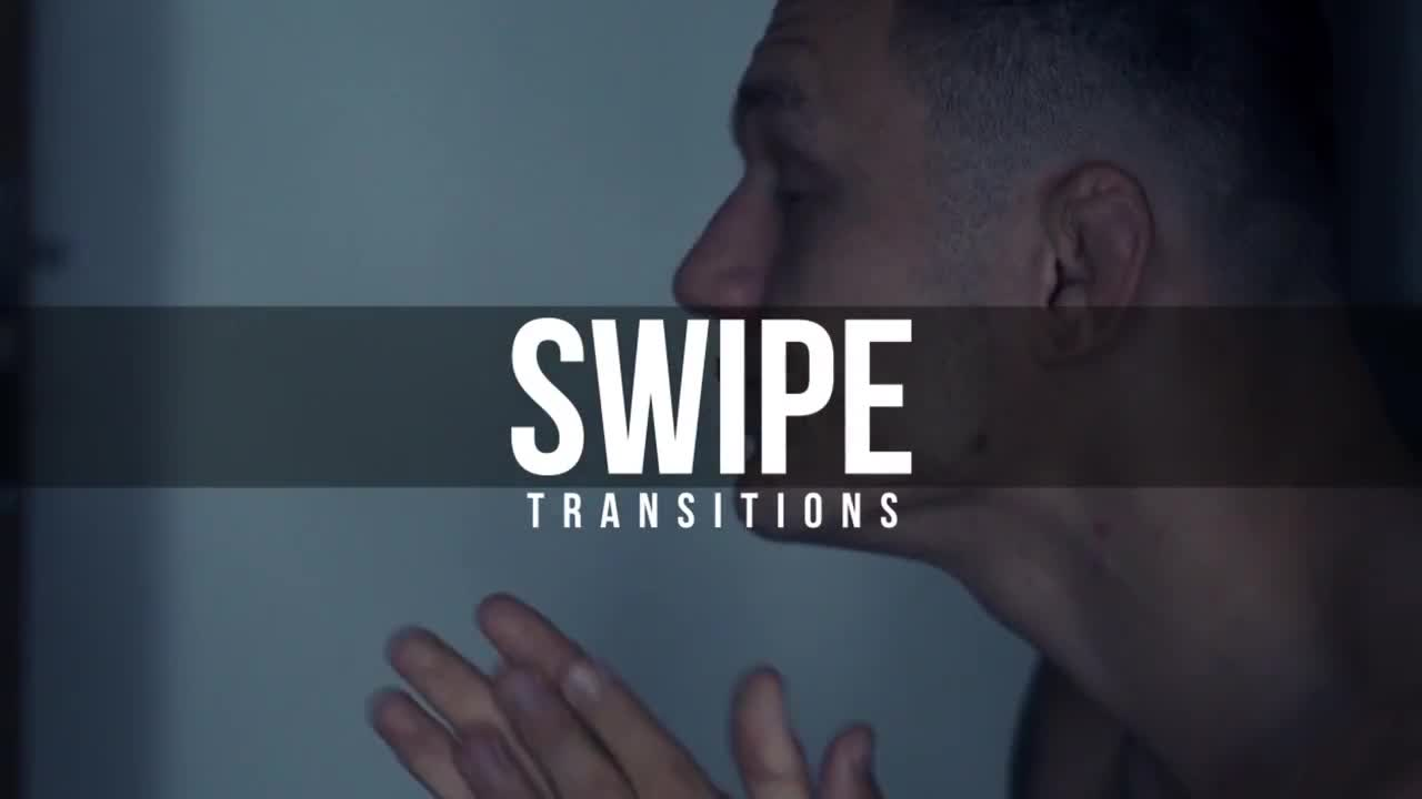 Swipe Transitions - After Effects Presets | Motion Array