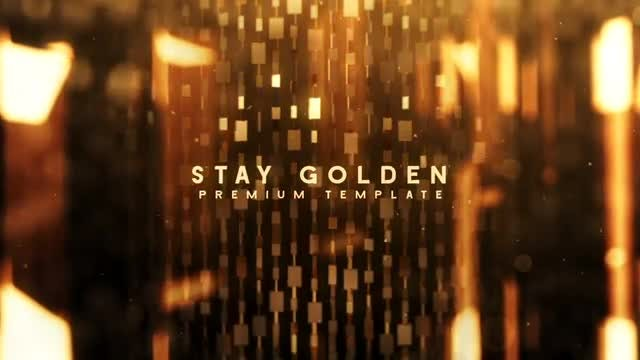 Stay Golden: After Effects Templates