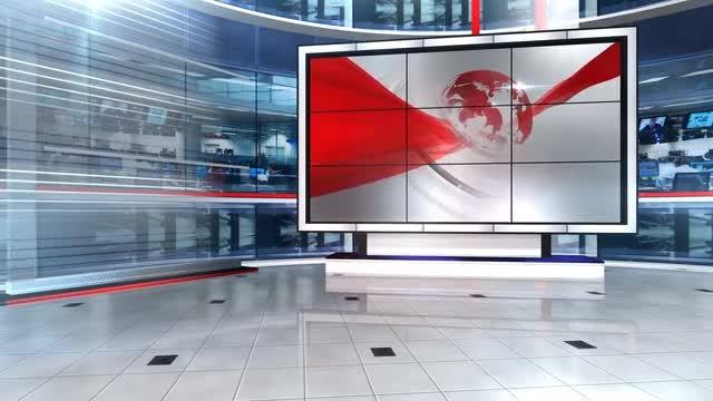 Virtual Newsroom: Stock Motion Graphics