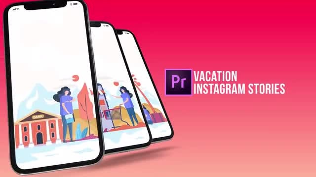 Vacation - Instagram Stories: Motion Graphics Templates