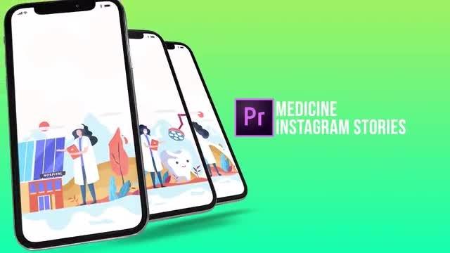 Medicine - Instagram Stories: Motion Graphics Templates