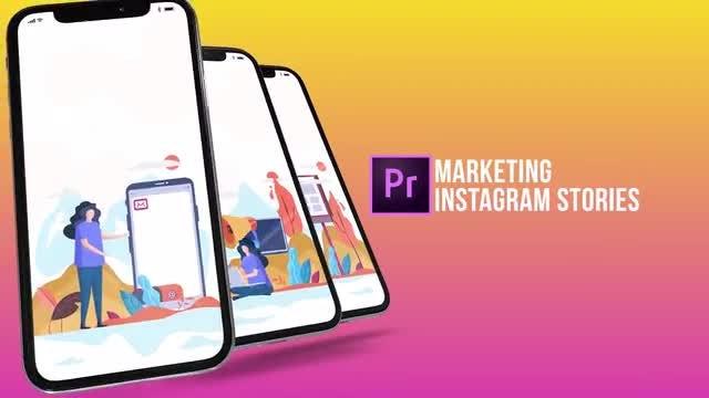 Marketing - Instagram Stories: Motion Graphics Templates