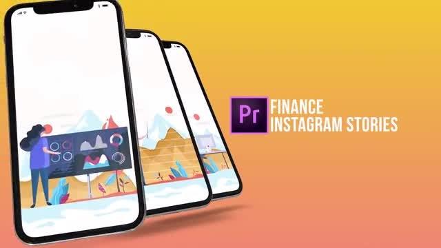 Finance - Instagram Stories: Motion Graphics Templates