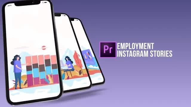 Employment - Instagram Stories: Motion Graphics Templates