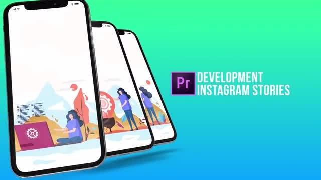 Development - Instagram Stories: Motion Graphics Templates