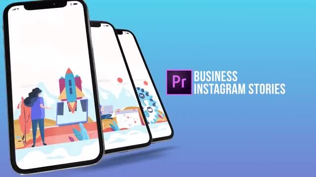 Business - Instagram Stories: Motion Graphics Templates