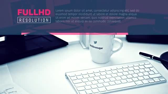 Simple Minimal Promo Opener: After Effects Templates
