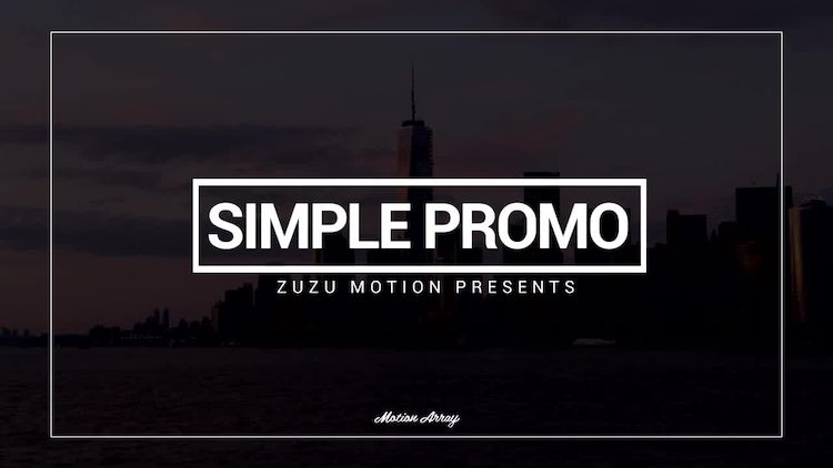 Simple Promo: After Effects Templates
