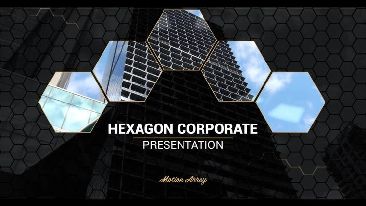 Hexagon Corporate Presentation - After Effects Templates   Motion ...