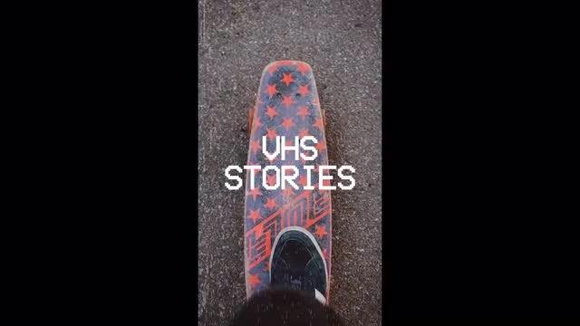 Dynamic VHS Stories: Premiere Pro Templates