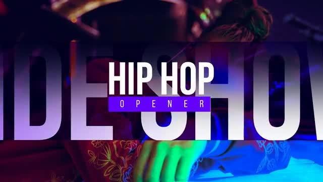 Fire Hip Hop Opener: After Effects Templates