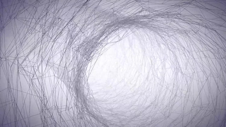 Wire Tunnel: Motion Graphics