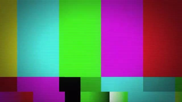 Color Bars: Stock Motion Graphics