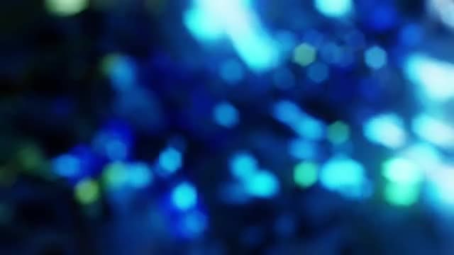 Blue Bokeh Background: Stock Motion Graphics