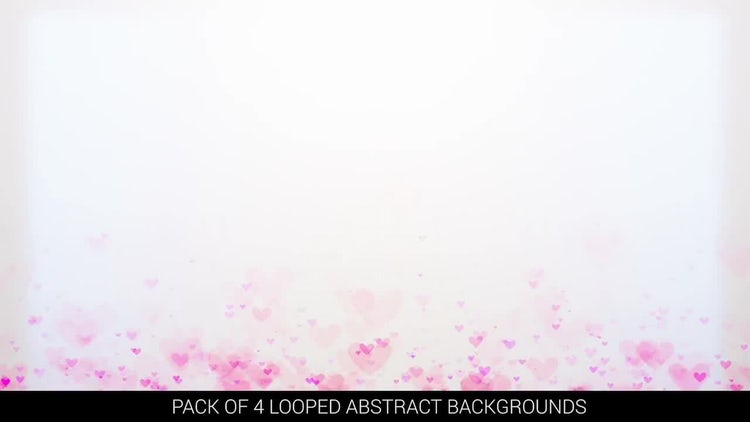 Looped Heart Backgrounds: Motion Graphics