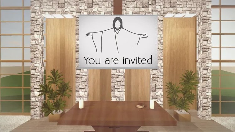 Church Invite: After Effects Templates