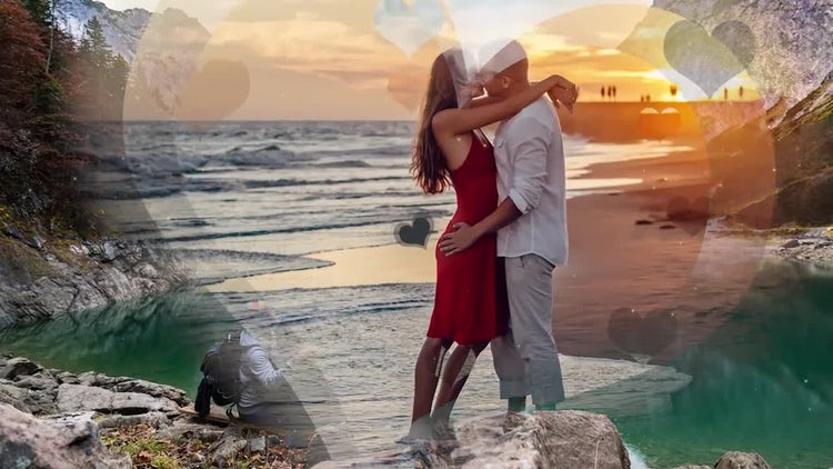 Romantic Slideshow: Premiere Pro Templates