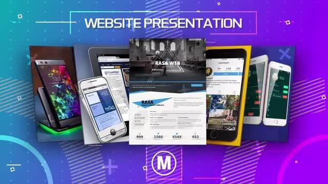 Website Presentation: After Effects Templates