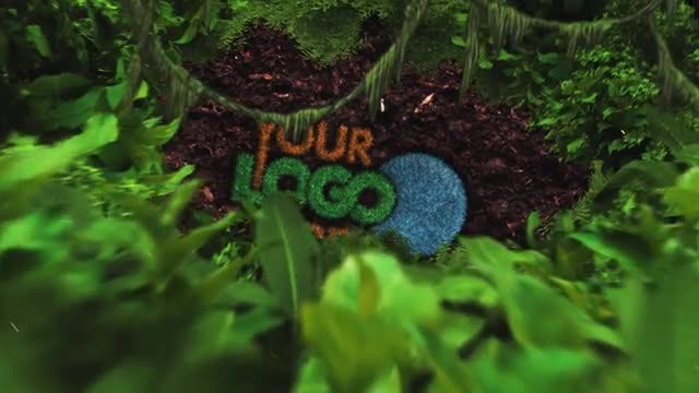 Nature Logo Reveal: After Effects Templates