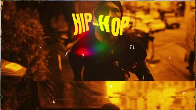 Hip Hop Intro: After Effects Templates
