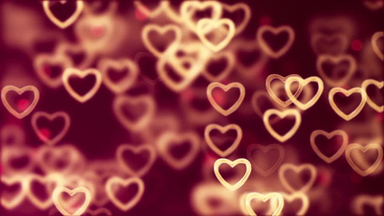 Flying Hearts: Stock Motion Graphics
