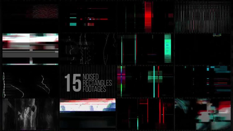 Glitch Elements Pack: Stock Motion Graphics