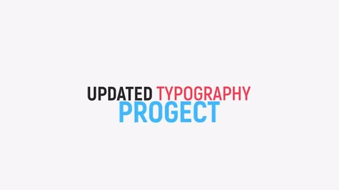 how to make kinetic typography