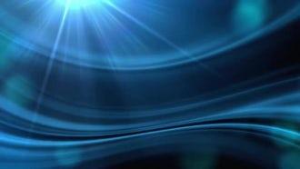Blue Flow: Motion Graphics