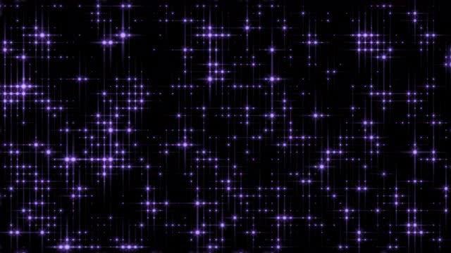 Digital Purple Lights: Stock Motion Graphics