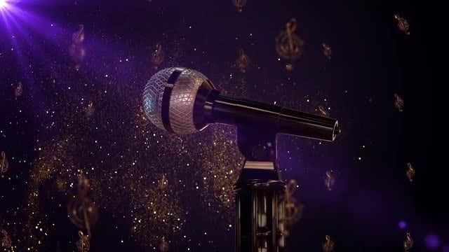 Singing Contest: Stock Motion Graphics