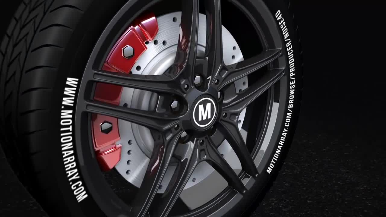 Car Wheel - Automotive Logo - After Effects Templates | Motion Array