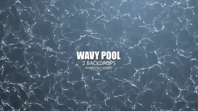Wavy Pool: Stock Motion Graphics