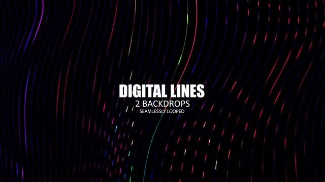 Digital Lines: Stock Motion Graphics