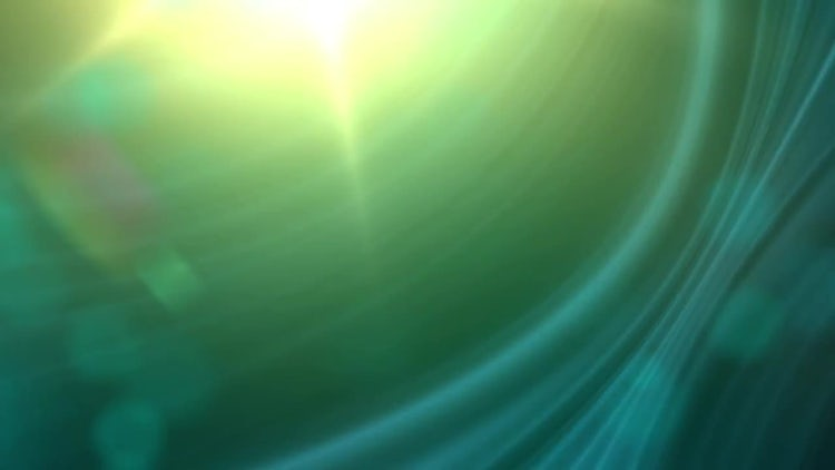 Abstract Green: Motion Graphics