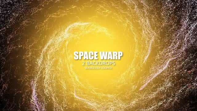 Space Warp: Stock Motion Graphics