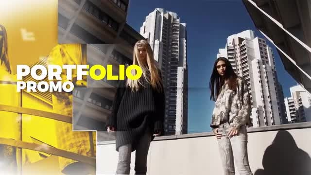 Portfolio Promo: After Effects Templates