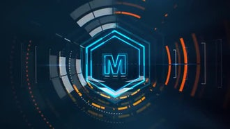 Tech Logo V2: After Effects Templates