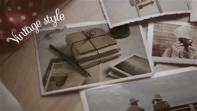 Retro Box Slideshow: After Effects Templates