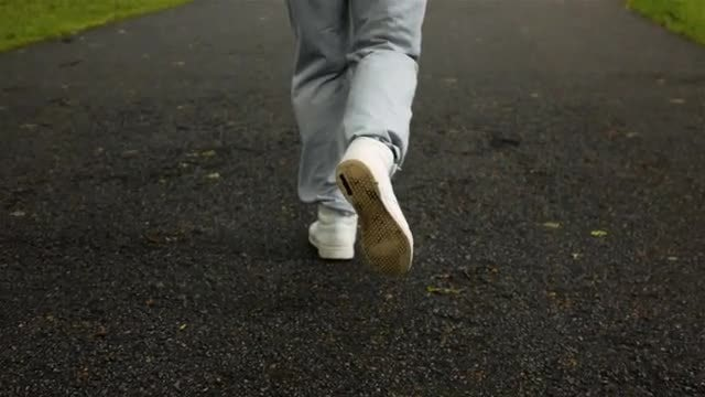 Man Jogging: Stock Video