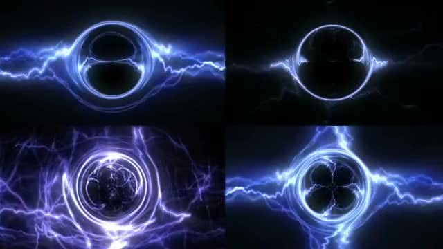Electric Light Backgrounds: Stock Motion Graphics
