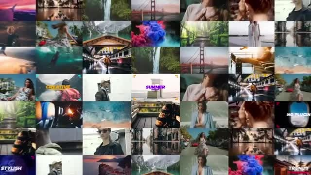 Creative Summer Opener: After Effects Templates
