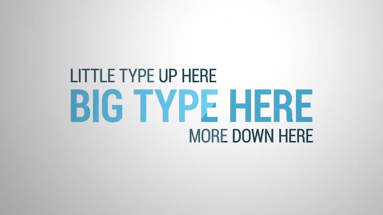 Flip Type: After Effects Templates